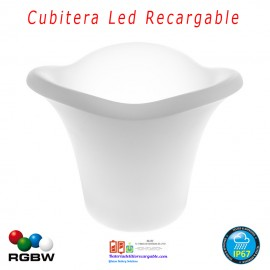 Botellero Luz Led Recargable RGBW 32cm