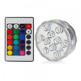 Luz de Led RGB sumergible