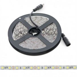 Tira de Led 12v 5050 Blanco Frio 60 led/m IP20