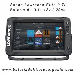 Kit sonda Lowrance Elite 9 Ti2