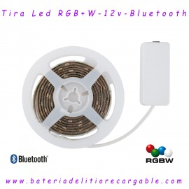 Tira de Led Bluetooth 5050 RGB+W  IP20