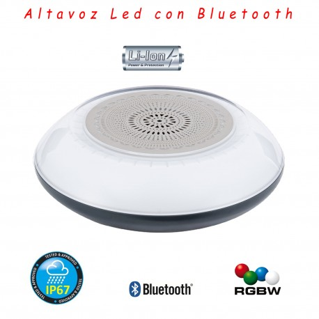 Altavoz LED Bluetooth Acuático RGBW