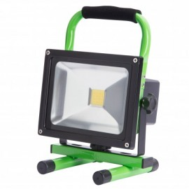 Foco proyector Led recargable 20w IP65