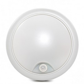 Plafon LED 15w IP65 con sensor de movimiento