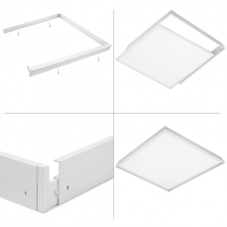 Marco superficie panel Led 60x60