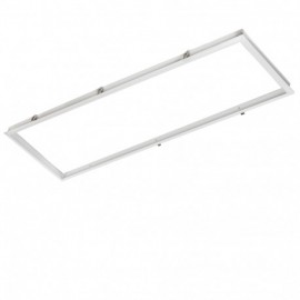 Marco empotrable panel led 120x30