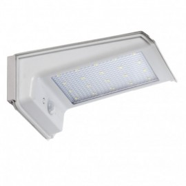 Aplique led Solar con sensor de movimiento