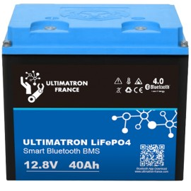 Bateria LiFePo4 12,8v 40ah Ultimatron