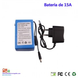 Bateria recargable litio 12V / 15A