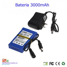 Bateria recargable litio 12V / 3A