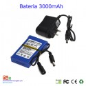 Bateria recargable litio 12V / 3A / 36wh