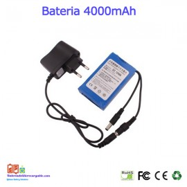 Bateria recargable litio 12V / 4A / 48wh
