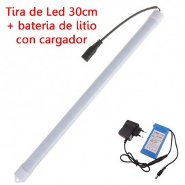 Tira de Led 5630 30cm + Bateria Litio