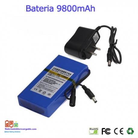 Bateria recargable litio 12V / 9.8A