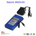 Bateria recargable litio 12V/ 9.8A / 117,60wh