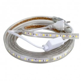 Tira de Led 5050 220v 1mts Blanco Frio