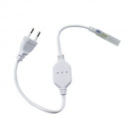 Conector IP65 tira led 220v 5050 Monocolor