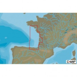 Cartografia C-MAP MAX-N+ LOCAL SANTANDER TO BRIGNEAU West European Coasts