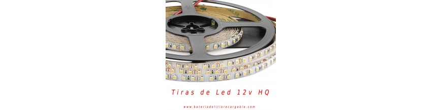Tiras de led 12v DC HQ